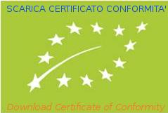 Scarica Certificato Biologico