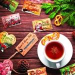 Natale, zucchero, bustine di zucchero, bustine natalizie, christmas, sugar sachets, christmas sugar sachets