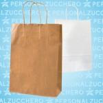 borse manico ritorto, borse in carta, paper bags