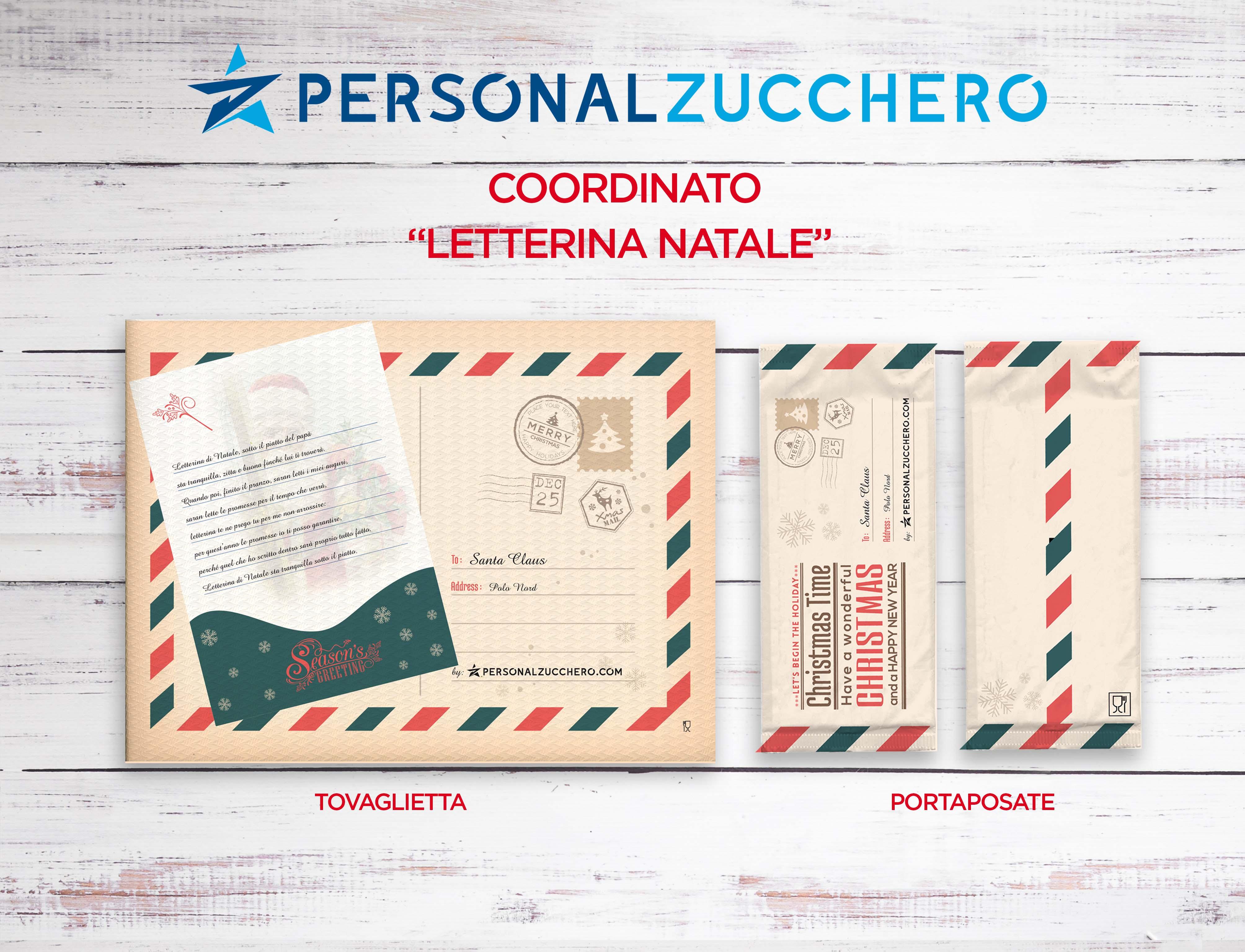 Natale 2021 - Coordinato Letterina Natale