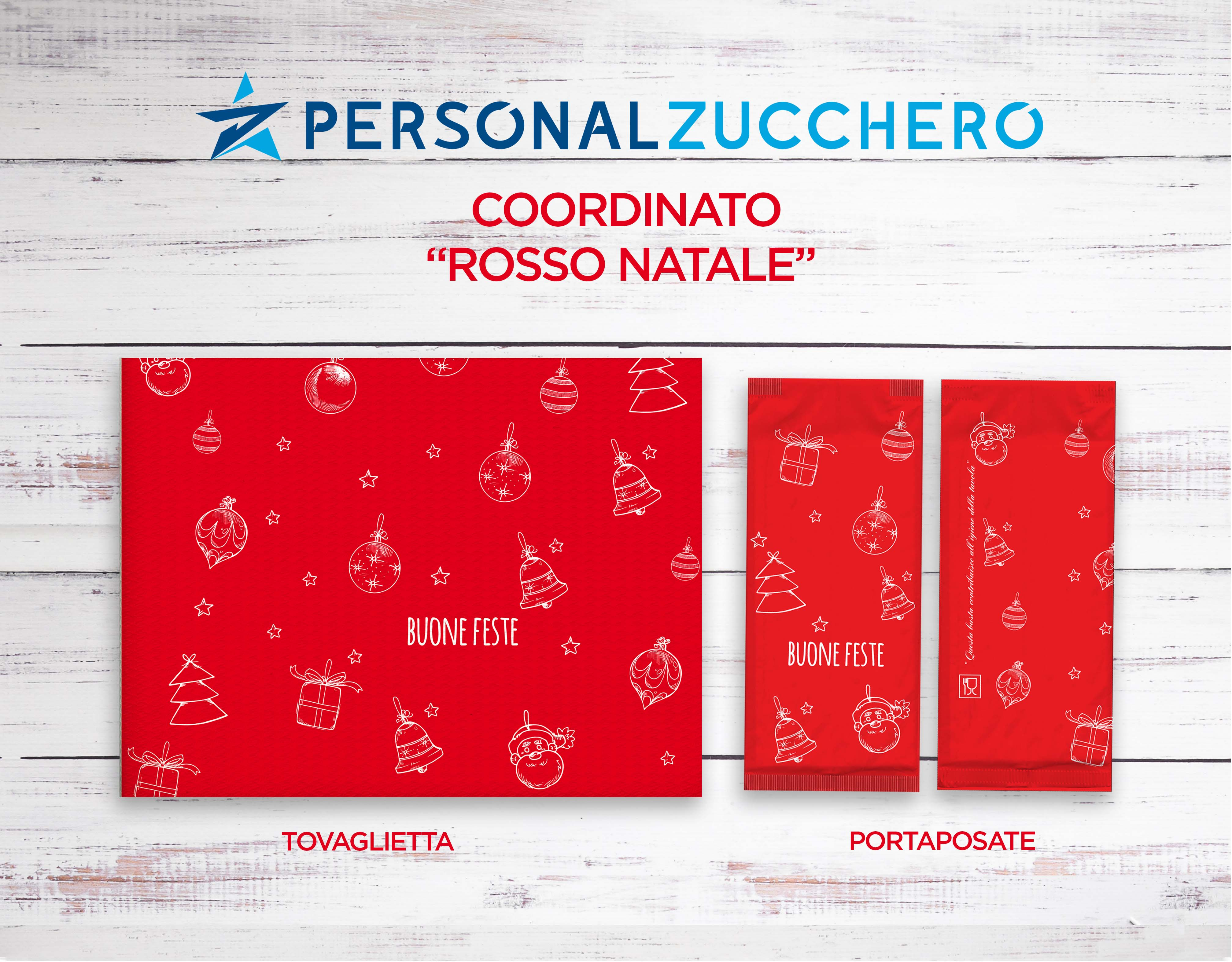 Natale 2021 - Coordinato Rosso Natale